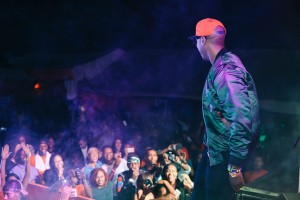 BienAime Baraza on stage in Arusha, Tanzania (2016)